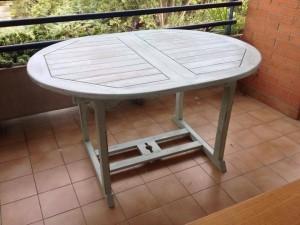tavolo turchese shabby chi